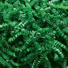 Crinkle Cut Paper Shred Gift Basket Paper Filler Bedding- Green - 4, 8, or 16 oz