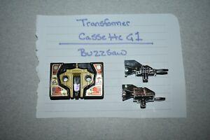 1985 TRANSFORMERS G1 MINI CASSETTE BUZZSAW