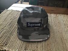 Supreme Camp Cap 3M Grey Camo Reflective