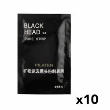 PILATEN Blackhead Remover Black Mask Deep Pore Cleansing Face Peel Off Mask x10
