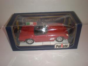1/16 Polistil Ferrari California open red Gold Serie  Rare