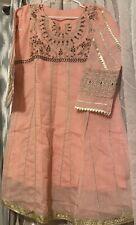 Pakistani  Paper Cotton Stylish Embroidered Stitched Kurti Size  M Chest 36