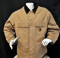 Carhartt Mens Jacket XL Reg. Heavy Insulated Quilted Interior