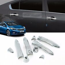 Chrome Door Catch Handle Molding Garnish Cover 11P for KIA 2013-2017 Cerato K3