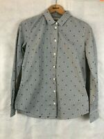 Barbour Women's Meadow Shirt - Navy/White - Size 8 & 16 - RRP £65
