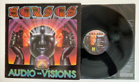 Kansas - Audio-Visions - 1980 US 1st Press (NM) Ultrasonic Clean