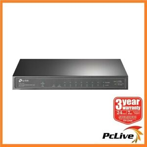 NEW TP-Link TL-SG1210P 10-Port Gigabit Desktop Switch with 8-Port PoE+ SFP slot