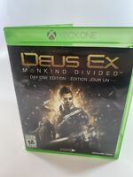 Deus Ex Mankind Divided Microsoft Xbox One Disc Case Tested