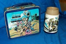 Vintage 1984 He-Man and the Masters of the Universe Lunchbox Lunch Box Heman Old