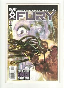 FURY (2001) JAN 2002 #3 MARVEL COMIC BOOK 9.4 NM
