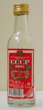 USSR LUX Belarus VODKA EMPTY MINIATURE BOTTLE - No Contents