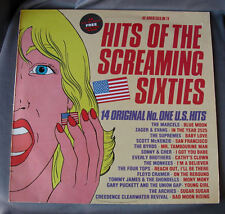 """Vinilo LP 12"""" 33 rpm HITS OF THE SCREAMING SIXTIES 14 original No. ONE US HITS"""