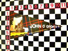 1960's Style John O Groats Holiday Pennant - Vauxhall Cresta Victor Viva VX490