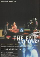 The End of Violence - Original Japanese Chirashi Mini Poster - Wim Wenders