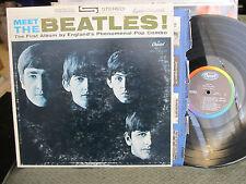 Meet the Beatles LP 1st debut stereo st2047 WEST COAST #6 RARE BMI 1 version!