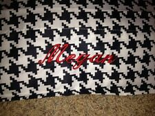 Pillowcases (many Colors) Monogrammed --Zebra Print-Colorful Stripes/Peace Signs