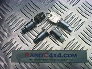 MTC6505 Land Rover Defender Door Barrel Lock Set Rear, Side & fuel cap 4 of