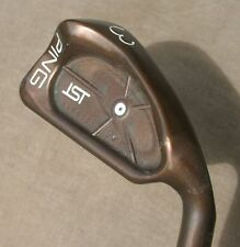Ping iSi BECU Copper Beryllium 3 Iron Orig Z-Z65 Steel Shaft  White Lie Angle