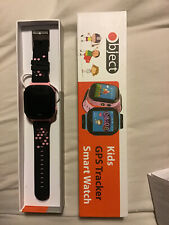 Object Kids GPS Tracker Smart Watch Camera New In Box 32MB Rechargable Pink