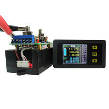 DC Battery 120V 200A Voltage LCD Digital Current Power Capacity Combo Watt Meter