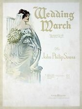 Adobe PDF Sheet Music Wedding March John Philip Sousa,  -- (composer) 1918 PDF