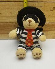 "Hamburglar McDonald's Build A Bear Plush Doll 7"" Stuffed Animal Toy 2005"