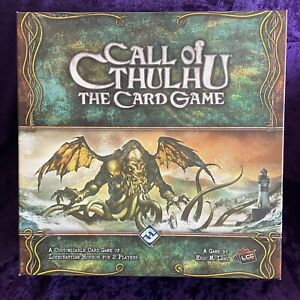 Game Call of Cthulhu The Card Game Base Game Complete - Fantasy Flight OOP