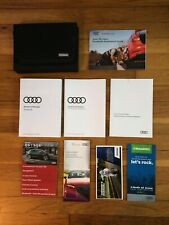 2018 AuDi Q5 owners manual book + Case + Navigation All Models Oem