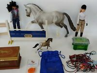 """Breyer stablemates lot with """"2015 limited  edition stalion"""""""