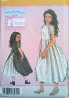 Daisy Kingdom Dress Pattern 3-6 Simplicity 4899 OOP