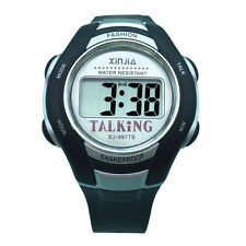 Spanish Talking Watch Unisex  For The Blind And Elderly Electronic Speak Watch