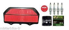 Kit Entretien Révision filtre à air huile bougie Suzuki GSX-R GSXR 600 cc 2011->