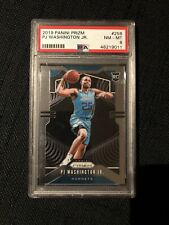 PJ Washington Jr. Rookie PSA 8 Panini Prizm 2019-20 Charlotte Hornets #258 RC