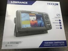 New in Box Lowrance Hook 7 Fish Finder/Chartplotter Combo 000-12664-001