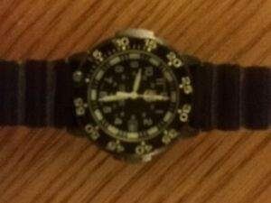 Luminox Swiss Made Series 3000 Wristwatch Black