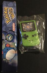 2 X Burger King Marill Watch & Gameboy Pokemon World 2000 Togepi NEW
