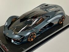 1/18 MR Collection Lamborghini Terzo Millennio Presentation Color Carbon base