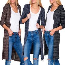 Lange Langarm Damen-Pullover & -Strickware aus Baumwolle ohne Verschluss
