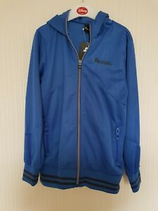 Bench Boys Blue Hoodie Age 9-10 Years BNWT