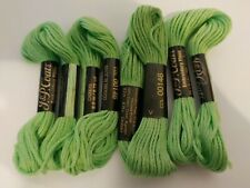 Pale Green Grass Embroidery Floss