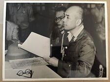 ww2 photo press Capitulation d'armée japonaise  1945    A71