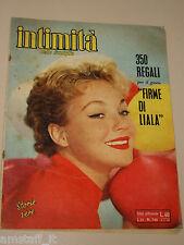 INTIMITA rivista 5 MAGGIO 1960 NR.741 storie vere FOTOROMANZO