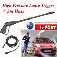 Washer Lance Gun High Pressure Trigger Nozzle Wand Washer Pump Cleaning  - -