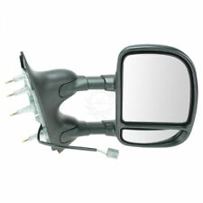 Towing Power Mirror Dual Arm Telescoping Right RH Passenger for 09-13 Ford Van