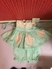 Well Dressed Wolf Tunic, Dress With Bloomers Size 18 mos P Mint Green Color Nwt