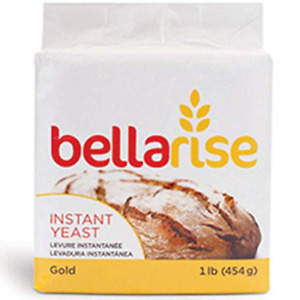 Bellarise Gold Instant Dry Yeast - 1 LB Fast Acting Instant Yeast for Bread