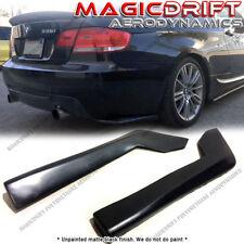 For BMW E90 325i 335i Rear Bumper Sides Splitter Extension Spats Mudguard Lip