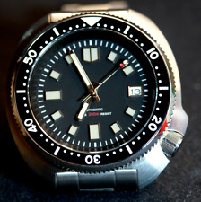 Diver 316L sapphire glass  Seiko 6105 Homage watch UK/EU Stock NH35A MVMT