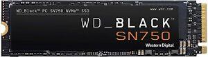 WD BLACK 250GB SN750 NVMe SSD Solid State Drive - Gen3 PCIe, M.2 WDS250G3X0C