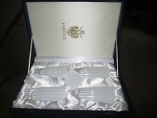 Set of 4 Faberge Blanc de Blanc Highball Glasses Crystal with Gift Box New